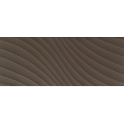 Elementary brown wave STR 29,8x74,8